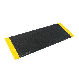Ruedamann アルミスロープ スロープ 段差解消スロープ 軽量スロープ 持ち運びが便利 屋内外用の安心スロープ フリーサイズ (長さ81cm)MR807 (幅25CM)