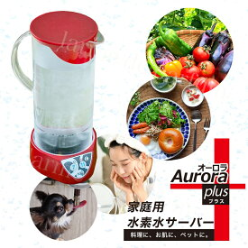 【30%OFF 48,840円OFF 公式認定ストア レビュー特典+1年延長保証】 水素水生成器 家庭用 水素水サーバー Aurora plus (オーロラ プラス) 卓上型 家庭用水素水生成器 小型 低コスト エイジングケア 料理 ペット 飲料水 ギフト