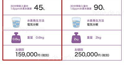 【レビューを書いてさらに1年延長の当店2年保証】ポータブル水素吸入器LaBrillerelan(ラブリエエラン)日本製家庭用水素水サーバーメーカー公式宅急便送料無料あす楽ペットギフト