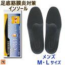 インソールプロ 足底筋膜炎対策 メンズ 男性用 M/L 足底筋膜炎 インソール 足底腱膜炎 靴の中敷き 土踏まず 足底筋膜…