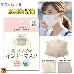 インナーマスク シルク 洗える 肌にやさしい マスク インナー シート 潤いシルクのインナーマスク 洗えるマスクフィルター マスクパッド マスクライナー レディース