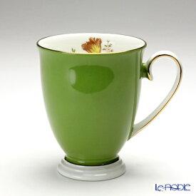エインズレイ ハワードスプレイ #3026 マグ(足付き) ミルグリーン 300ml マグカップ おしゃれ かわいい 食器 ブランド 結婚祝い 内祝い