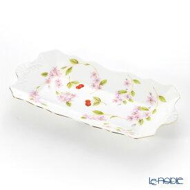 【ポイント19倍】エインズレイ チェリーブロッサム サンドイッチトレイ 30cm プレート 皿 お皿 食器 ブランド 結婚祝い 内祝い