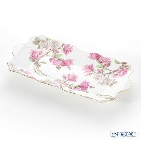 【ポイント19倍】エインズレイ エリザベスローズ ピンク サンドイッチトレイ 30cm プレート 皿 お皿 食器 ブランド 結婚祝い 内祝い