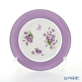 【ポイント19倍】エインズレイ イングリッシュバイオレット プレート 20cm 皿 お皿 食器 ブランド 結婚祝い 内祝い