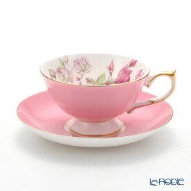 【ポイント19倍】エインズレイ エリザベスローズ #3056 ティーカップ&ソーサー(アセンズ) ピンク 200ml おしゃれ かわいい 食器 ブランド 結婚祝い 内祝い