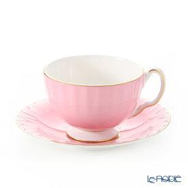 【ポイント19倍】エインズレイ コテージガーデン #2973 ティーカップ&ソーサー(オーバン) ピンク 180ml おしゃれ かわいい 食器 ブランド 結婚祝い 内祝い