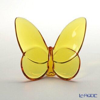 Baccarat Baccarat art 2-102-549 lucky Butterfly amber