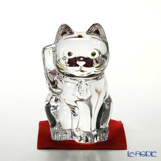 Baccarat Baccarat art 2-607-786 lucky cat 10 cm