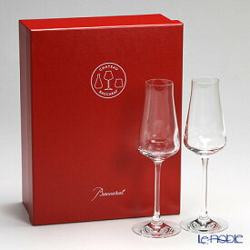 バカラ (Baccarat) シャトーバカラ 2-611-149 シャンパンフルート 24cm ペア お祝い ギフト グラス シャンパングラス 食器 ブランド 結婚祝い 内祝い