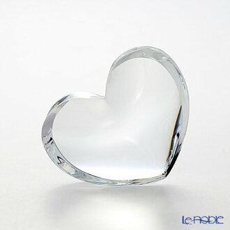 2-103-966 zinzan Baccarat Baccarat heart clear L 7 cm