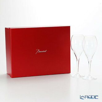 Baccarat (Baccarat) オノロジー 2-100-297 (2-100-304) Champagne 280cc pair celebration gift glass champagne glass tableware brand wedding present family celebration