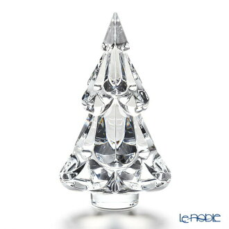 Baccarat (Baccarat) art object 2-812-247 Christmas tree clear glass celebration gift Christmas art object ornament interior
