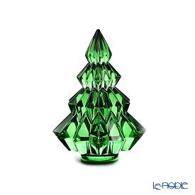 【ポイント10倍】バカラ (Baccarat) オブジェ 2‐813‐076 クリスマスツリー アスペン グリーン 13.4cm 19W お祝い ギフト クリスマスオブジェ 置物 インテリア