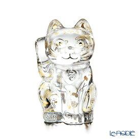 バカラ (Baccarat)ファウナクリストポリス 2-814-453 まねき猫/招き猫 ゴールド 10cm LE3000 世界限定生産3000点 ハイメ・アジョン デザイン お祝い ギフト 置物 オブジェ インテリア