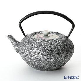 【ポイント19倍】YOnoBI ヨーノビ 鉄瓶ティーポットS hira 015 三日月/silver 0.7L 食器 ブランド 結婚祝い 内祝い
