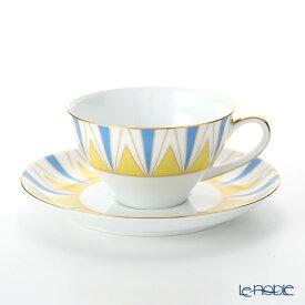【ポイント19倍】大倉陶園 100周年カウントダウン碗皿シリーズ第1弾 ティー・コーヒー碗皿 アール・デコ 30C/E194 ティーカップ おしゃれ かわいい 食器 ブランド 結婚祝い 内祝い
