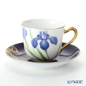 【ポイント19倍】大倉陶園 碗皿暦 57C/E215 カップ&ソーサー 5月・杜若 コーヒ—カップ おしゃれ かわいい 食器 ブランド 結婚祝い 内祝い
