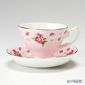 ロイヤル・アルバート ニューカントリーローズ(ピンク) ヴィンテージ ティーカップ&ソーサー ロイヤルアルバート Royal Albert おしゃれ かわいい 食器 ブランド 結婚祝い 内祝い