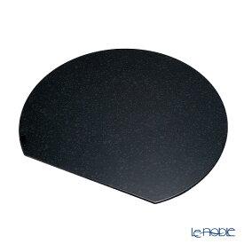 【ポイント10倍】ラックヌーボー マーブルコレクション 半月型プレースマット(L) ブラック キッチン 用品 雑貨 調理
