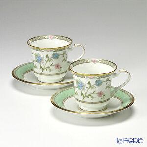 ノリタケ ヨシノ Y6704/9983 アメリカン碗皿 ペア コーヒ?カップ おしゃれ かわいい 食器 ブランド 結婚祝い 内祝い