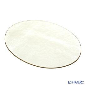 【ポイント10倍】ラックヌーボー 楕円型プレースマット(L) パールホワイト パールコレクション キッチン 用品 雑貨 調理