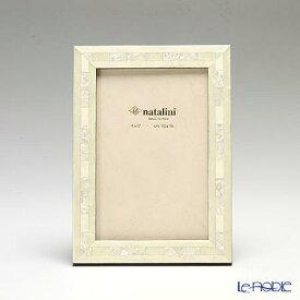 【ポイント19倍】ナタリーニ 象嵌フォトフレーム 10×15cm QH/20 ホワイト