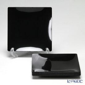 ソリア(solia) プレートコレクション フルイドプレート 16cm ブラック PL20233FF 10枚入 キッチン 用品 雑貨 調理