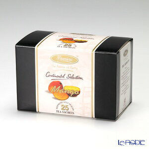 プリミアスティー(高級インド紅茶) コンチネンタルセレクション ティーバッグセット 25個入 マンゴー ギフト お歳暮 お中元 お餞別 プチギフト