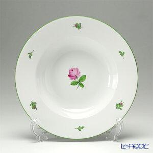 アウガルテン (AUGARTEN) ウィンナーローズ(5089) スーププレート 21cm(001) 深皿 カレー パスタ お皿 食器 ブランド 結婚祝い 内祝い