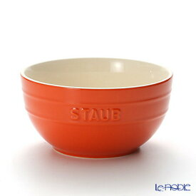 【ポイント10倍】ストウブ(staub) ボウル(セラミック製) 17cm/1.2L オレンジ 鍋 新生活 結婚祝い 食器 ブランド 内祝い