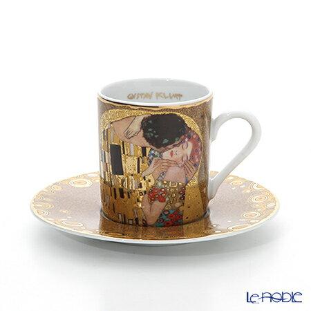 ゲーベル(GOEBEL) クリムト 接吻 66515677 デミタスカップ&ソーサー 100cc【楽ギフ_包装選択】【楽ギフ_のし宛書】 ティーカップ コーヒーカップ カップアンドソーサー 引き出物 内祝い 食器