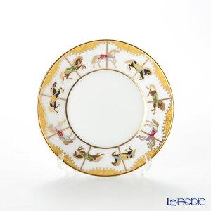 【ポイント10倍】大倉陶園 うまくゆく 回転木馬 10cmディッシュ 50CS/1901 プレート 皿 お皿 食器 ブランド 結婚祝い 内祝い