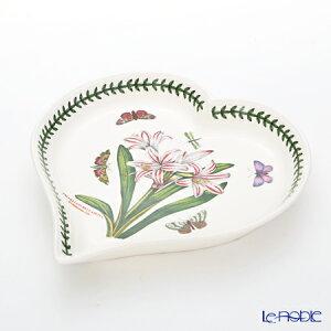 ポートメリオン ボタニックガーデン ハートディッシュ 20cm アマリリス プレート 皿 お皿 食器 ブランド 結婚祝い 内祝い