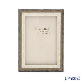 【ポイント10倍】ナタリーニ 象嵌フォトフレーム 10×15cm スタジオ グレー