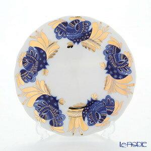 ロシア食器 インペリアル・ポーセリン ゴールデンガーデン プレート 18cm 皿 お皿 ブランド 結婚祝い 内祝い