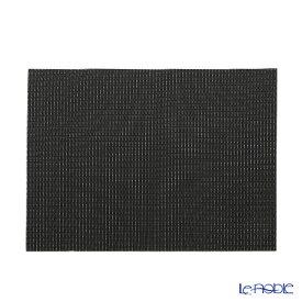 シェーンプラス ウィーブプリント プレースマット 43×30cm ブラック ZPT50525 キッチン 用品 雑貨 調理