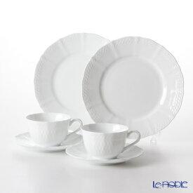 ノリタケ シェール ブラン ティータイム ペアセット TP9534/1655 cher blanc シェール ブラン 食器セット お祝い 結婚祝い ブランド 内祝い