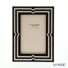 【ポイント19倍】ナタリーニ 象嵌フォトフレーム 10×15cm ベラッジオ ブラック