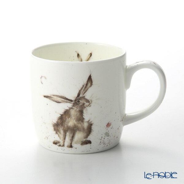 【ポイント10倍】ロイヤル・ウースター レンデル マグ 330cc Good Hare Day 野ウサギ【楽ギフ_包装選択】【楽ギフ_のし宛書】 新生活 母の日 マグカップ 食器 おしゃれ ブランド