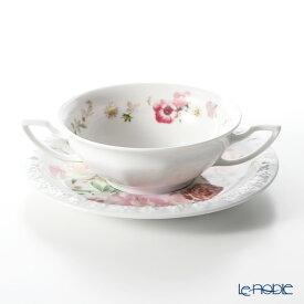 ローゼンタール マリアピンクローズ スープカップ&ソーサー 270cc 食器 ブランド 結婚祝い 内祝い