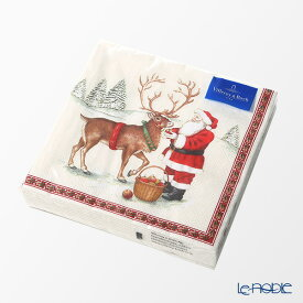 ビレロイ&ボッホ(Villeroy&Boch) ウィンタースペシャル ナプキン レインディア 33cm 20枚入 0114 クリスマス キッチン 用品 雑貨 調理