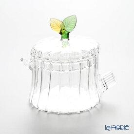 【ポイント19倍】イッケンドルフ グリーンウッド シュガーポット リーフ 420cc 耐熱性ガラス 食器 ブランド 結婚祝い 内祝い