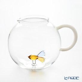 【ポイント10倍】イッケンドルフ アニマルファーム ジャグ フィッシュ カラー 2L(満水容量) 耐熱性ガラス 食器 ブランド 結婚祝い 内祝い