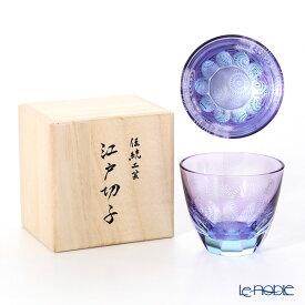 GLASS-LAB グラス・ラボ 江戸切子 砂切子 花火 水面 S-103-003 ロックグラス 酒器 ギフト お祝い 食器 ブランド 結婚祝い 内祝い
