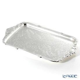 【ポイント19倍】クイーン アン QUEEN ANNE(イギリス製銀メッキ) オブロングトレイ L ハンドル(一体型) 0/6455 キッチン 用品 雑貨 調理