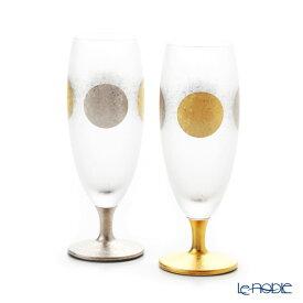 石塚硝子 プレミアムニッポンテイスト 日月(じつげつ) ショートステム ペア 125ml S-6255 グラス シャンパングラス ギフト 食器 ブランド 結婚祝い 内祝い