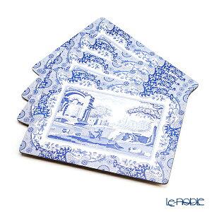 ピンパーネル スポードブルーイタリアン プレースマットセット 30×40 4枚 キッチン 用品 雑貨 調理