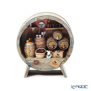 ロイター・ポーセリン ワインセラー 001.729/0 ミニチュア バーレル 19.5×22cm 置物 オブジェ インテリア
