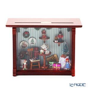 ロイター・ポーセリン クリスマス ルーム 001.702/1 ミニチュア ピクチャーボックス M 置物 オブジェ インテリア